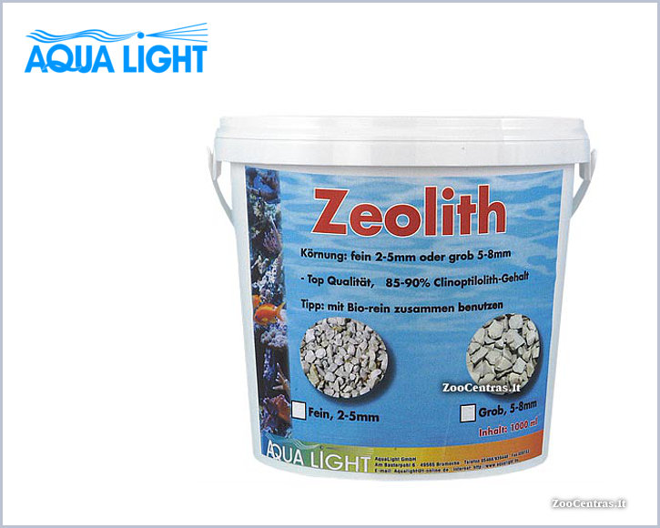 Aqua Light - ZEOLITH,   Absorbentas Ceolitas 8-16mm, 1 L