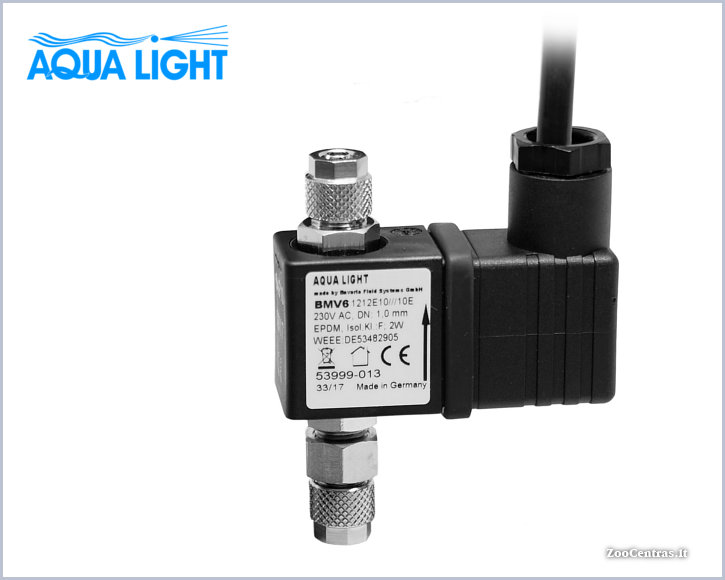 Aqua Light - Elektromagnetinis CO2 vožtuvas, 230V
