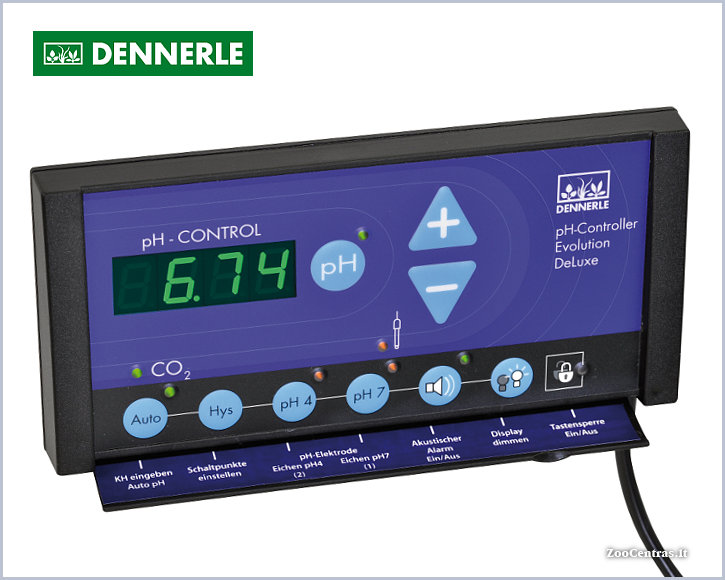 Dennerle - Profi-Line, pH kontroleris Evolution DeLuxe