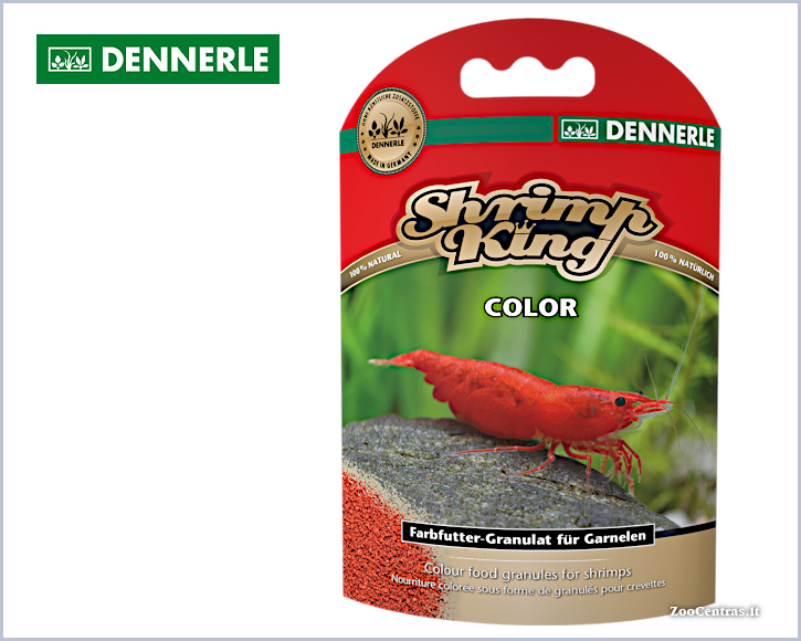 Dennerle - Shrimp King COLOR, Pašaras krevetėms 35g