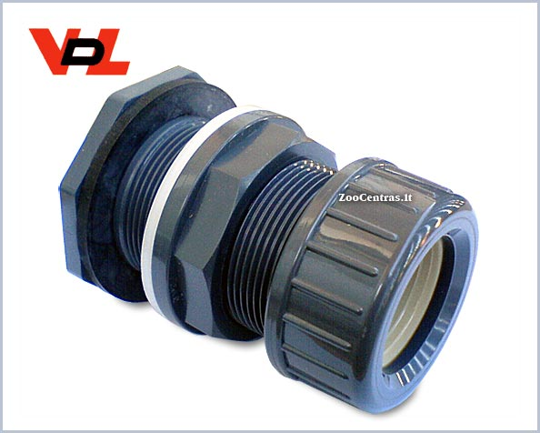 VDL - PVC tank connector 32mm squeeze sealing