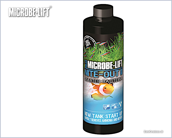 Microbe-Lift - Nite-Out II, Bakterijų tirpalas 473 ml