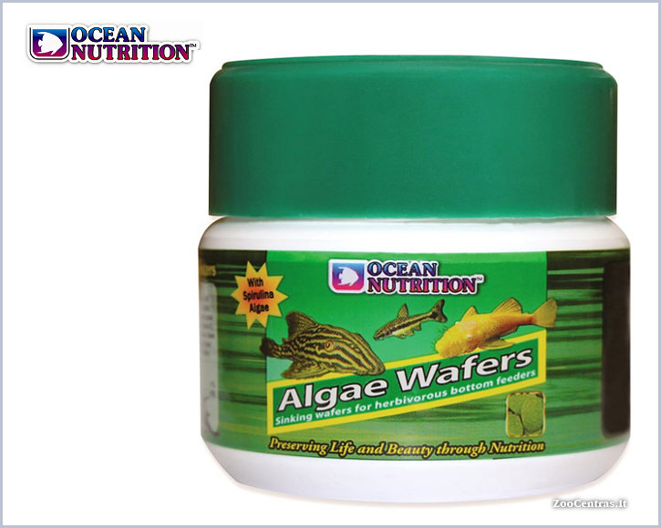 Ocean Nutrition - Algae Wafers, Žuvų pašaras 75g