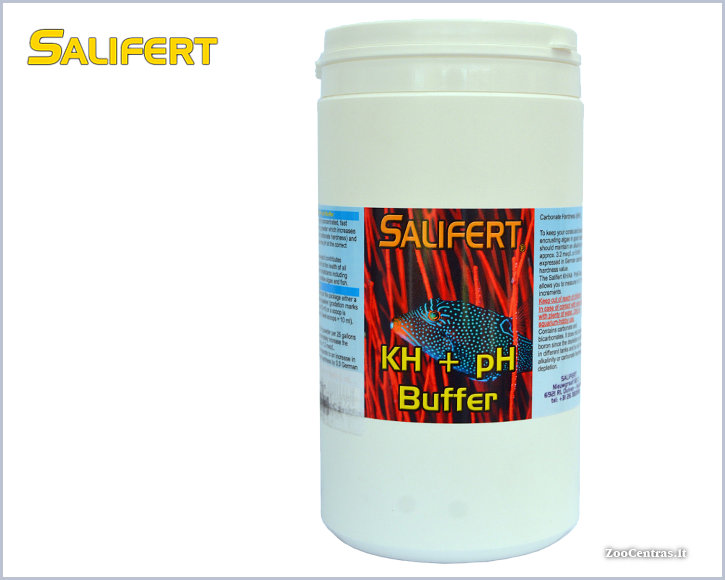 Salifert - KH + pH Buffer, KH buferis (milteliai) 1000ml