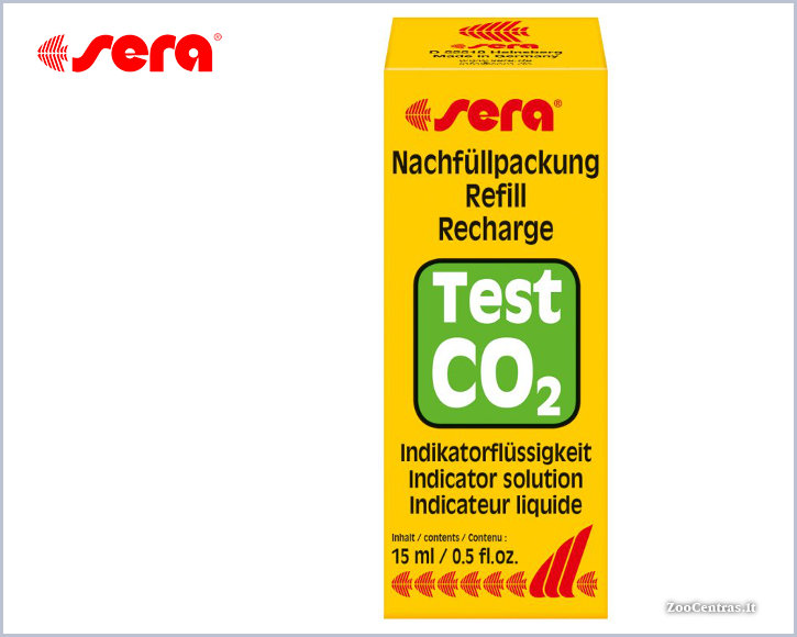 Sera - CO2, Reagentas CO2 testui 15ml